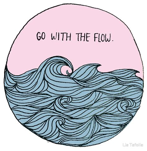 go with the flow 187 your baby is your primary birth partner quot go with the flow quot stickers by lia tafolla redbubble