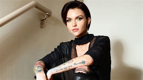 why ruby rose is obsessed with jean michel basquiat and