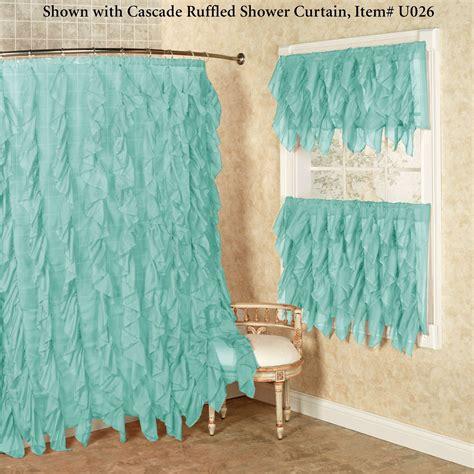 green ruffle shower curtain cascade curtain definition curtain menzilperde net