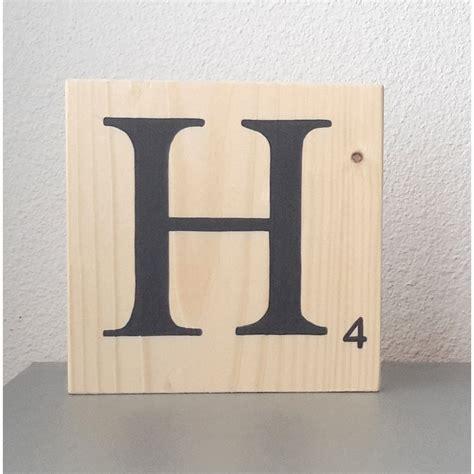 lettere stile murales lettre home en bois