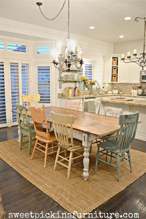 farmhouse dining room furniture fantistic diy shabby chic furniture ideas tutorials hative