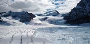 Antarctic Shelf by A Is Threatening To Cause An Entire Antarctic