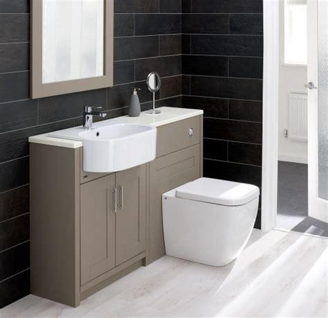 Montrose Bathroom Furniture In Line Modular Installation Types Montrose Fitted Bathrooms