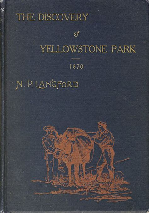 diary of the washburn expedition to the yellowstone and