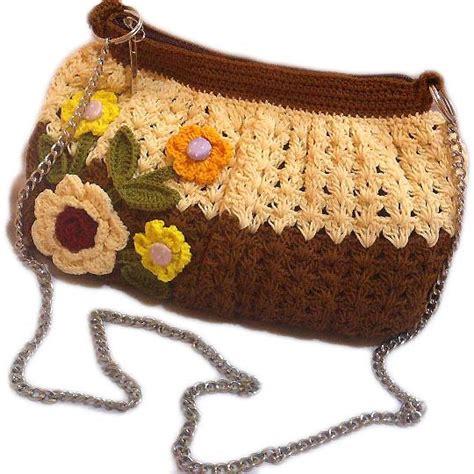 cara membuat tas rajut dari benang wol tas rajut coklat poly cantik maya crafts