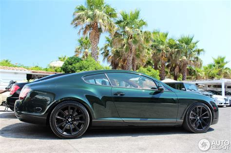 bentley dark green dark green bentley continental supersports looks amazing