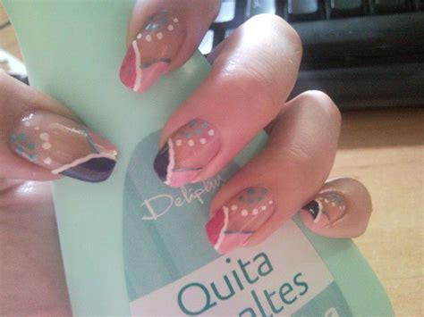 imagenes de uñas pintadas con esmalte u 241 as decoradas con esmalte mistrucosbelleza