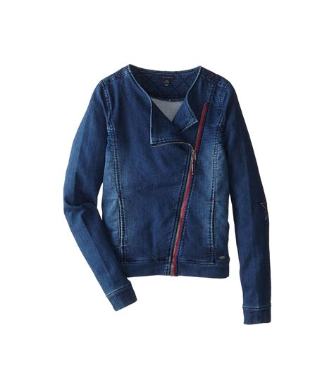 womens knit moto jacket hilfiger knit denim moto jacket big