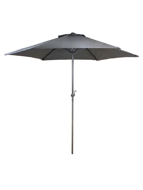 Gray Patio Umbrella Hdu5043 9ft Patio Charcoal Grey Umbrella Sears Outlet