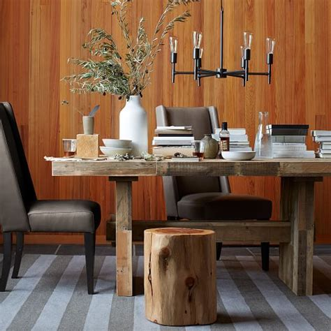 reclaimed dining table emmerson reclaimed wood dining table west elm