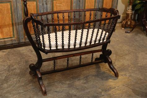 Antique French Baby Crib At 1stdibs Vintage Cribs For Babies