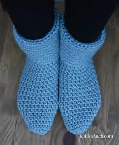 Free crochet socks amp easy crochet slipper patterns ideal for beginners