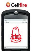 Cellfire Brings Coupons To Mobiles by Cellfire Offers Arby S Mobile Coupon Cell Phone Digest