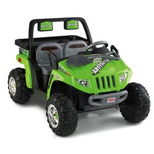Power Wheels Power Wheels 174 Arctic Cat 174 1000 Green Shop Power Wheels