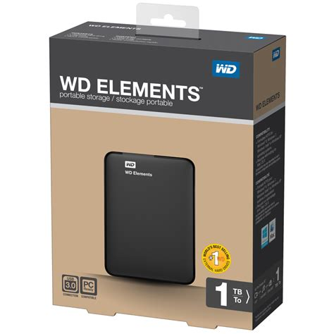 Wd Elements 1tb ebay