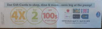 Groupon Gift Card Kroger - new kroger gift card digital coupons and 4x fuel rewards ends 4 28 bargains to