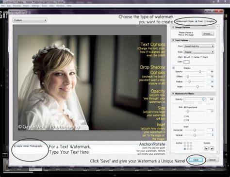 lightroom tutorial watermark 4 easy steps for creating a watermark in lightroom