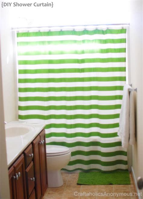 diy shower curtains how to change the d 233 cor of your bathroom with a simple diy