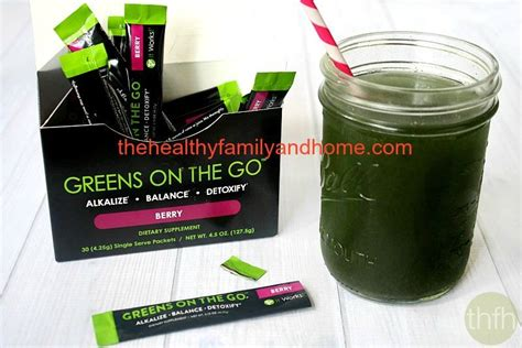 It Works 90 Day Greens Detox by Quot Greens On The Go Berry Quot It Works Global The Healthy