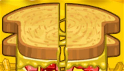 jeux de cuisine papa louie les sandwichs de papa louie jeu de cuisine jeux 2 cuisine