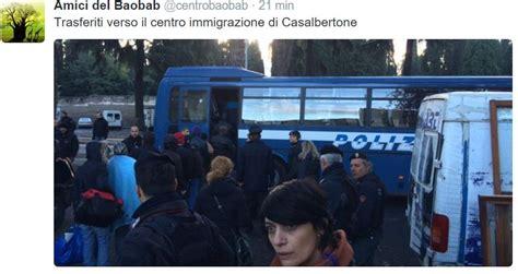 ufficio immigrazione roma via patini il blitz della polizia al baobab di via cupa nextquotidiano