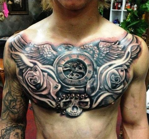 top 144 chest tattoos for men