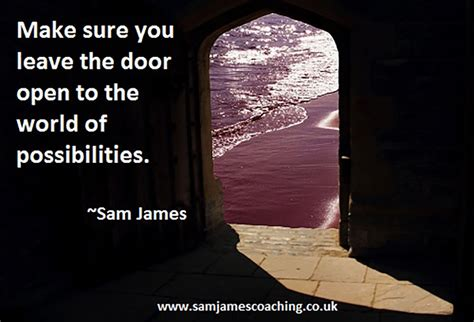 Resignation Letter Leave Door Open Leaving The Door Open To The World Of Possibilities Sam