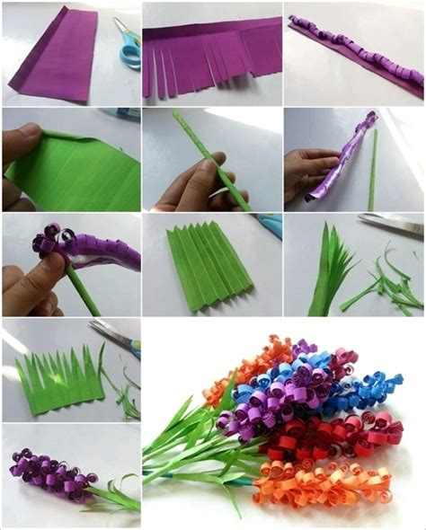 Paper Craft Ideas For Teenagers - diy swirly paper flowers our daily ideas