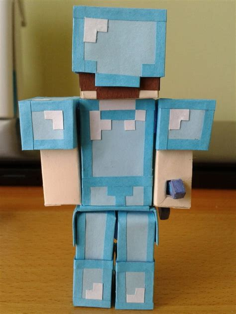 How To Make Minecraft Steve Out Of Paper - 7 best images about minecraft origami on