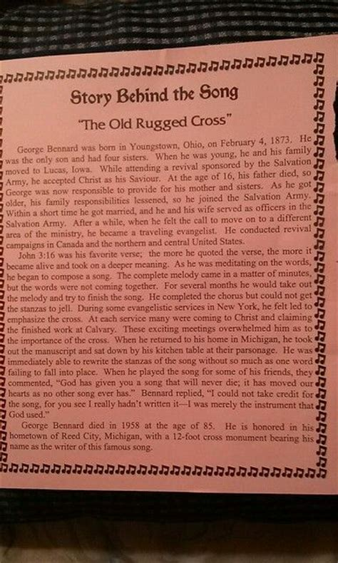 story the rugged cross 360 best images about story the hymn carols on my jesus lyrics and savior
