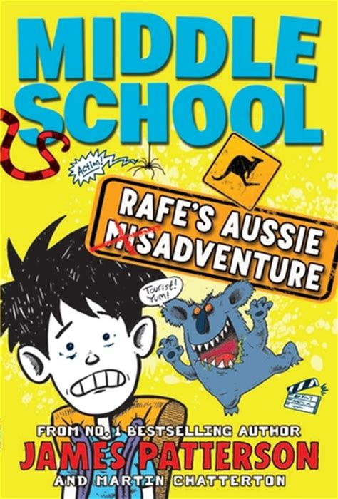 biography book for middle school middle school rafe s aussie adventure by james patterson