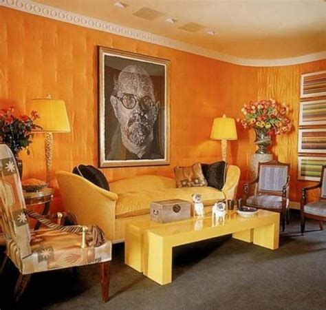 Orange Living Room Ideas Living Room Ideas Orange Modern House