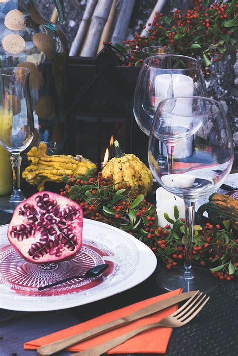 tavola ristorante come apparecchiare la tavola in autunno al ristorante