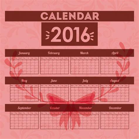 design calendar simple simple wall calendar 2016 design vectors set 18 vector