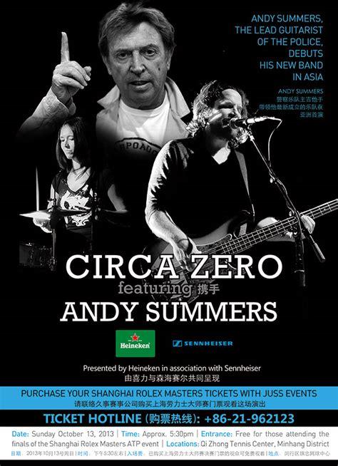 Circa Zero   circa zero debut shows in shanghai china andy summers