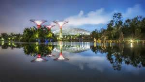 Landscape Structures Singapore Gardens By The Bay Conservatories Singapore Biomes E