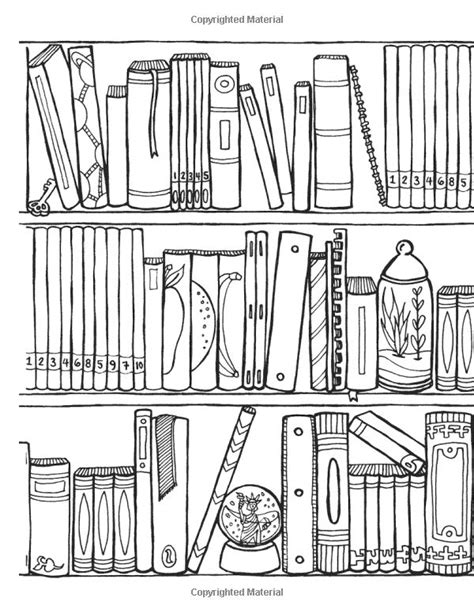 coloring pages bookshelves 28 best images about coloring pages on pinterest