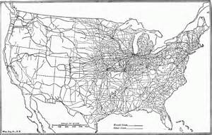 Railroad Map Of The United States by Rail Transportation In The United States Wikiwand
