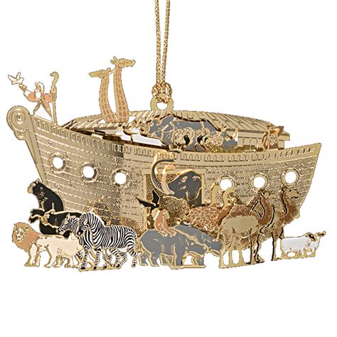 noah s ark ornament chemart ornaments solid brass ornament