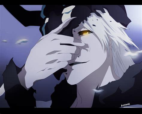 White Ichigo white hollow by aosenpai on deviantart