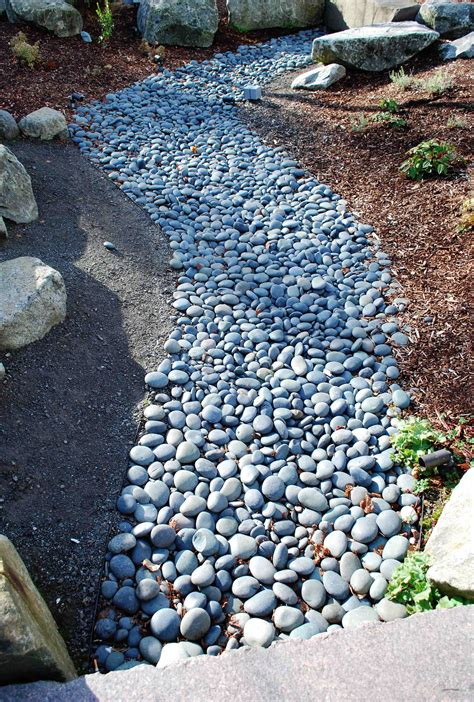 Pebbles And Rocks Garden Black Mexican Pebble 3 5 Quot