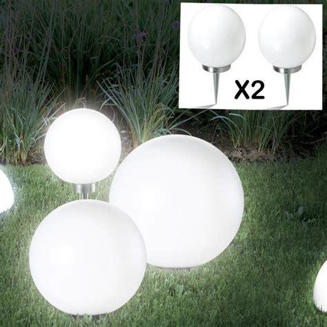 agréable Lampe Solaire Pour Jardin #5: lampe-boule-15-cm-solaire-x2.jpg