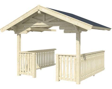 veranda freistehend veranda skan holz davos 380 x 300 cm natur bei hornbach
