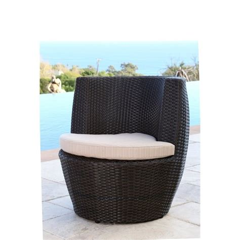 brown wicker outdoor furniture abbyson living carlsbad outdoor wicker 3 chair set in brown dl rtc020 3pc