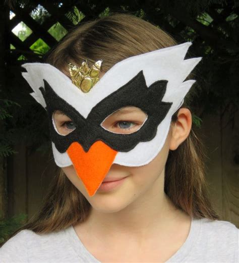 swan mask template felt swan mask bird mask masquerade swan costume