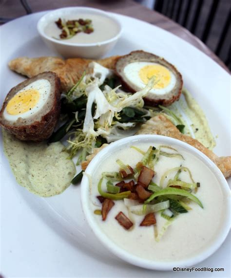 cuisine disney scotch egg the disney food