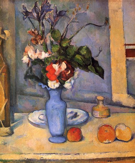 Paul Cezanne The Blue Vase by The Blue Vase C 1887 Paul Cezanne Wikiart Org