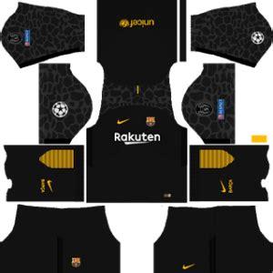 barcelona ucl kits 2017/2018 dream league soccer