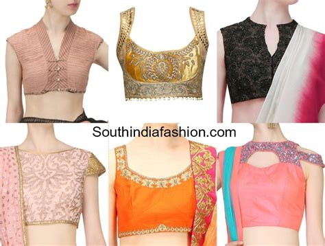 blouse neck designs photos different neck designs for blouse photo album best