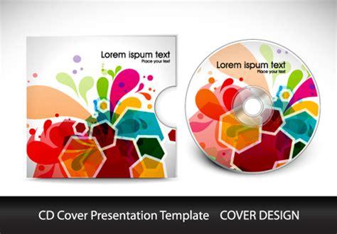 cd cover design vector abstract cd cover presentation design vector 04 welovesolo